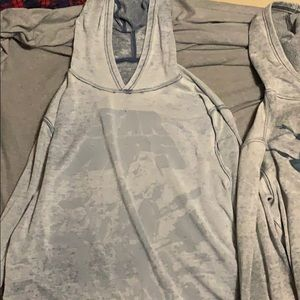 Two StarWars hoodies size Large.